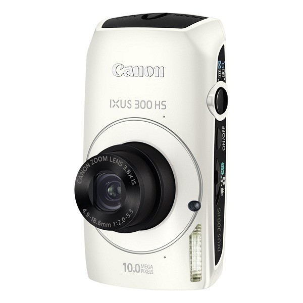 Aparat foto digital CANON IXUS 300HS alb, 10.0 MP CMOS, zoom optic 3,8×, video HD, HDMI (AJ4253B001AA)