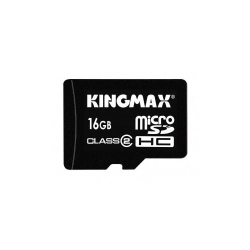Memorie flash card KINGMAX KM-MICRO-SD2/16G 16GB Secure Digital microSDHC Class 2
