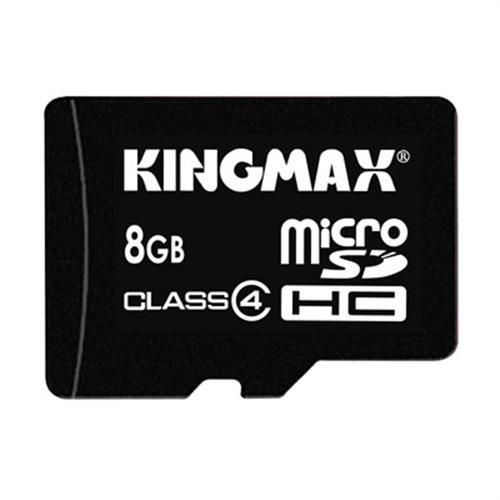 Memorie flash card KINGMAX KM-Micro-SD4/8G 8GB Secure Digital microSDHC Class 4