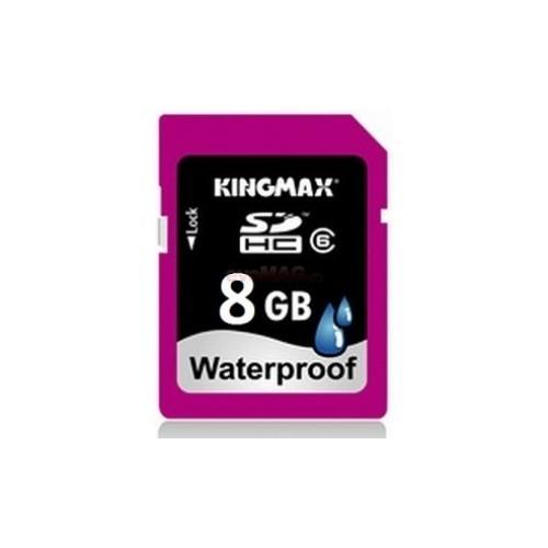 Memorie flash card KINGMAX KM-SD6/8G-W 8GB Secure Digital SDHC Class 6