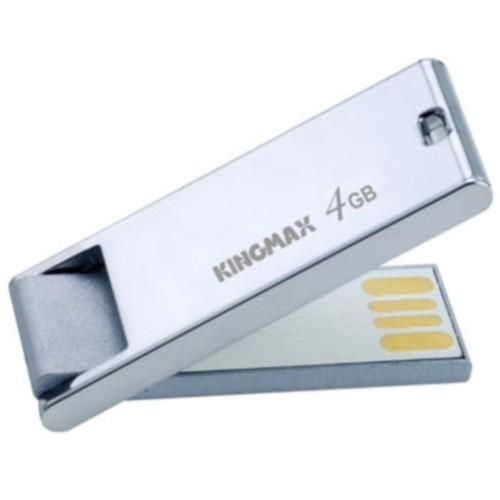 USB flash drive KINGMAX SuperStick Mask 4GB USB 2.0 -  argintiu (KM.SSM4G)