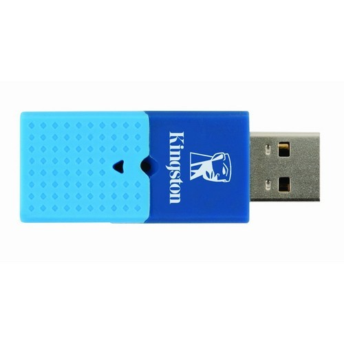 USB flash drive Kingston 4GB USB 2.0 DataTraveler Mini Fun, Gen2, (albastru) (DTMFG2/4GB)