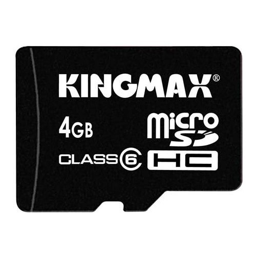 Memorie flash card KINGMAX KM-Micro-SD6/4G 4GB Secure Digital microSDHC Class 6