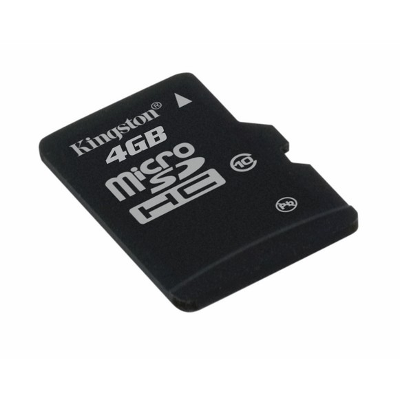 Memorie flash card Kingston SDC10/4GBSP 4GB microSDHC Class 10