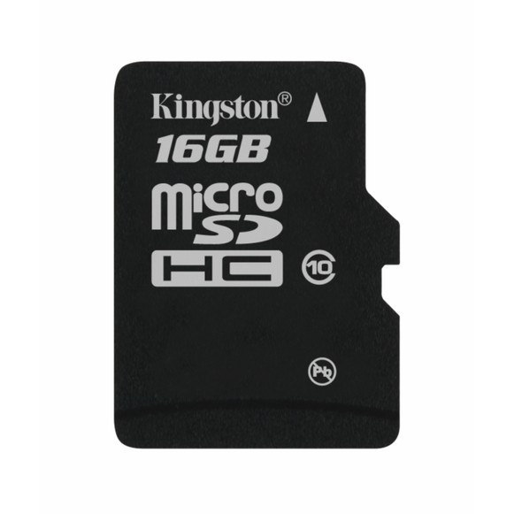 Memorie flash card Kingston SDC10/16GB 16GB microSDHC Class 10