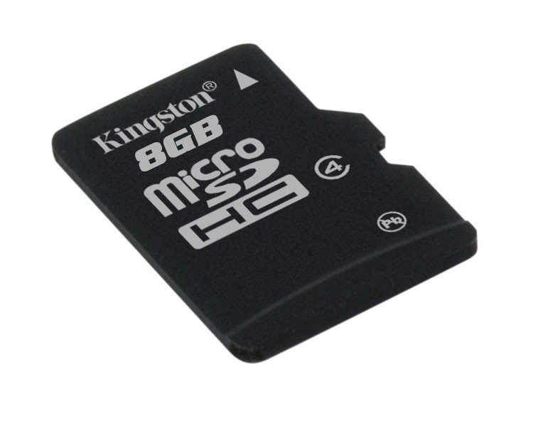 Memorie flash card Kingston SDC4/8GBSP 8GB microSDHC Class 4