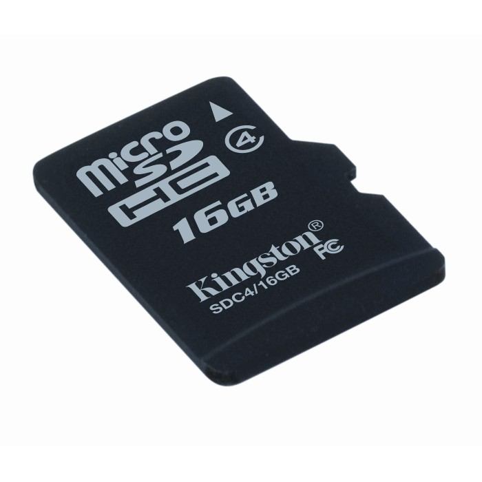 Memorie flash card Kingston SDC4/16GB 16GB microSDHC Class 4