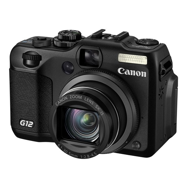 Aparat foto digital CANON PowerShot G12, 10MP zoom optic 5×, video HD, HDMI (AJ4342B002AA)