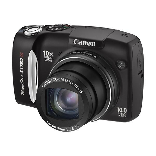 Aparat foto digital CANON PowerShot SX120 IS 10.0 MP, zoom optic 10×, video VGA (AJ3634B002AA)