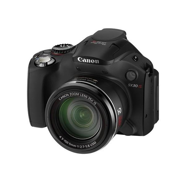 Aparat foto digital CANON PowerShot SX30 IS 14.1MP, zoom optic 35× wide, video HD, HDMI (AJ4344B002AA)