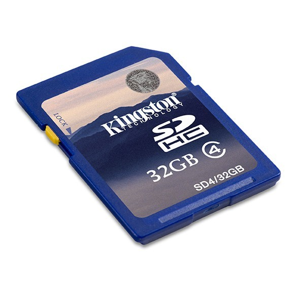 Memorie flash card Kingston SD4/32GB 32GB SDHC, Class 4