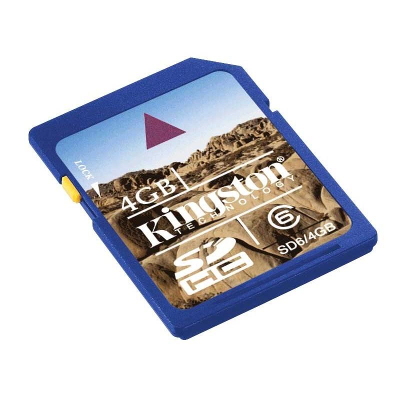 Memorie flash card Kingston SD6G2/4GB 4GB SDHC, Class 6 Ultimate