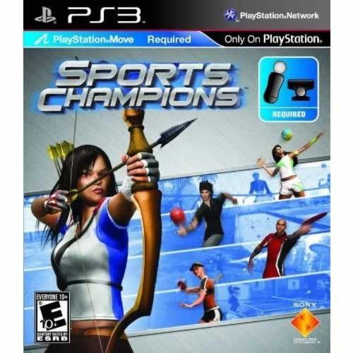 Joc consola SONY SPORTS CHAMPIONS pentru PS3 - Playstation MOVE - Toata lumea (12+) - Sport (BCES-00795)