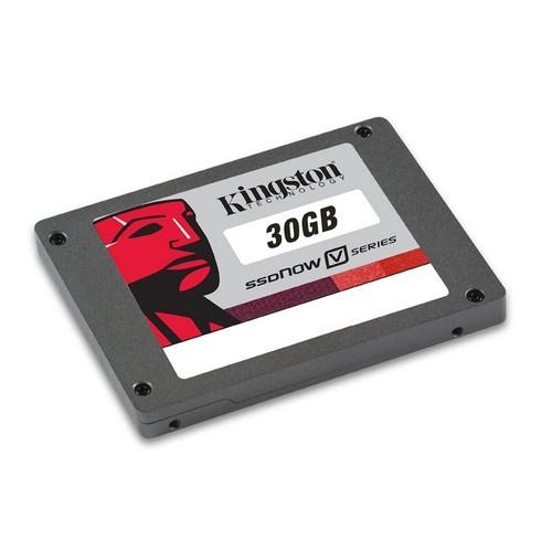 Solid State Drive Kingston 30GB SSDNow V-Series SATA2 2.5 inch (SNV125-S2/30GB)