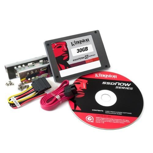 Solid State Drive Kingston 30GB SSDNow V-Series SATA2 2.5 inch Desktop (SNV125-S2BD/30GB)