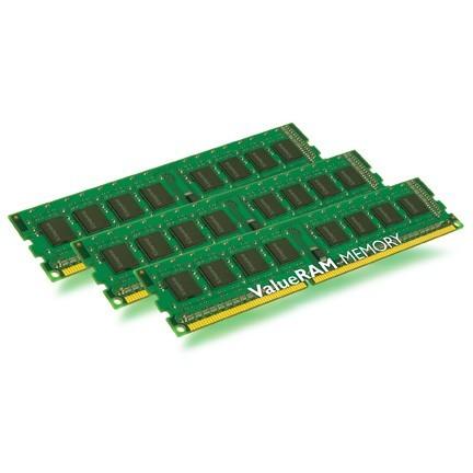 Memorie Kingston  6GB 1333Mhz DDR3 (Kit of 3) w/Thermal Sensor (KVR1333D3E9SK3/6G)