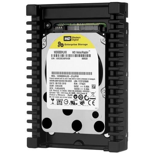 Hard-disk Western Digital  600GB, Enterprise VelociRaptor, 10000rpm, 32MB, 3.5inch; SATA3 (WD6000HLHX)