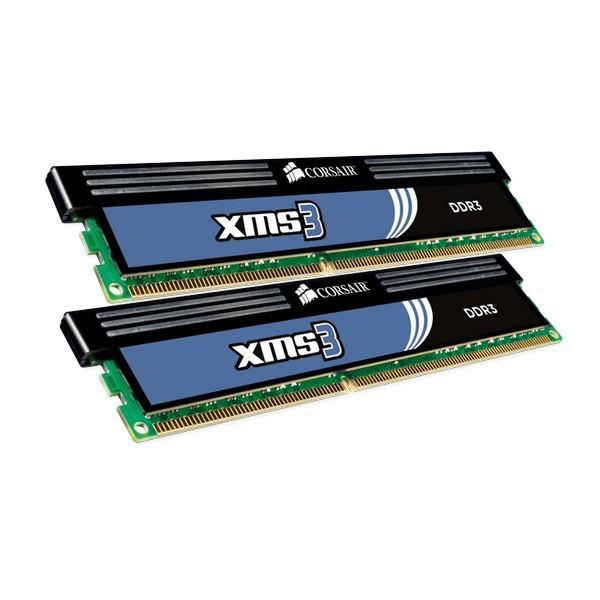 Memorie CORSAIR  4GB DDR3 1333MHz (Kit 2×2) radiator XMS (CMX4GX3M2A1333C8)