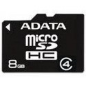 Memorie flash card ADATA AUSDH8GCL4-RA1 8GB Secure Digital microSDHC Class 4