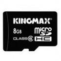 Memorie flash card KINGMAX KM-Micro-SD6/8G 8GB Secure Digital microSDHC Class 6
