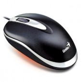 Mouse Genius Mini Traveler Black, Notebook, USB (G-31011467100)