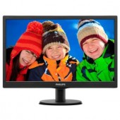 "Monitor Philips 193V5LSB2/10, LED 18.5"", 1366x768, D-Sub (193V5LSB2/10)"