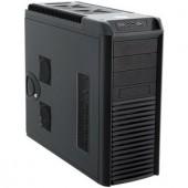 Carcasa Chieftec DRAGON Miditower (USB/eSATA/Audio), 1x120mm Front Fan, mATX, ATX, EATX, 3x5.25 1x3.5, Black (CH-08B-B-OP)