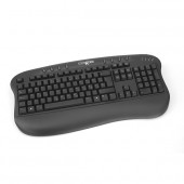 Tastatura comRace Multimedia, caractere româneşti PS/2, 8 hot keys, palmrest ergonomic (5213M-RO-PS2)