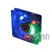 Ventilator carcasa TITAN 120mm, LED multicolor (TFD-12025GT12Z/LD1)