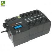 UPS CyberPower BS850ELCD GreenPower UPS 850VA, LCD, 6xSchuko, RJ45/RJ11 (BS850ELCD)
