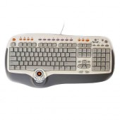 Tastatura BTC Smart Office US PS/2, 37 office function keys, track ball/scroll pad (8190-US)