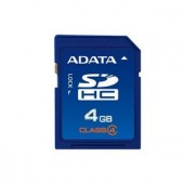 Memorie flash card ADATA ASDH4GCL4-R 4GB Secure Digital SDHC Class 4