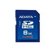 Memorie flash card ADATA ASDH8GCL4-R 8GB Secure Digital SDHC Class 4