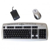 Kit Wireless Tastatura si Mouse Agiler PS/2 (AKM-WL)