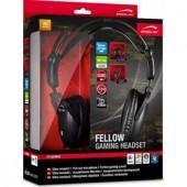 Casti cu microfon SpeedLink FELLOW Stereo Gaming (SL-8780-SBK)