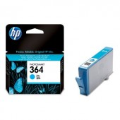 Consumabil Ink-jet HP 364 Cyan Cartridge for Photosmart D5460, up to 300pages (CB318EE)