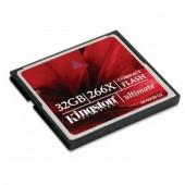 Memorie flash card Kingston CF/32GB-U2 32GB CompactFlash Card 266x Ultimate