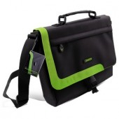 Geantă Canyon for Laptop 12inch; Black/Green (CNR-NB15G)