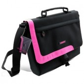 Geantă Canyon for Notebook up to 12inch; Black/Pink (CNR-NB15P)
