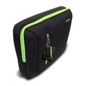 Geantă Canyon for 16 inch; Laptop Black/Green (CNR-NB17L)