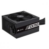 Sursa calculator CORSAIR CX750, 750W, 80 Plus Bronze, Active PFC (CP-9020123-EU)