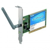 Adaptor wireless D-LINK G Card PCI LAN 802.11g (DWL-G510)