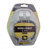 Cablu HDMI M-M 2m (SCR-HDMI-2M)