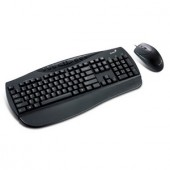 Kit Tastatura si Mouse Genius KB C100 Black, PS2 (G-31330196103)