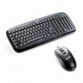 Kit Tastatura si Mouse Genius Slimstar C110 Black, PS2 (G-31330192100)