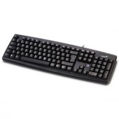 Tastatura Genius KB-06XE Black, PS2 (G-31300011103)