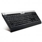 Tastatura Genius SlimStar 320 Black, 16 hot-key, PS2 (G-31310406100)