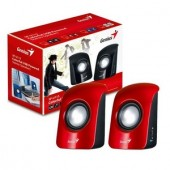 Boxe GENIUS SP-U115 2.0 Red, 3W RMS (2*1.5W), USB (G-31731006101)