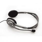 Casti cu microfon Logitech Stereo Headset H110 (981-000271)