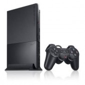 Pachet: Consola Sony PlayStation 2 Black 90000/EUR - 90004 + Card Memorie PS2 8MB (SCPH-90004CB-8MB)
